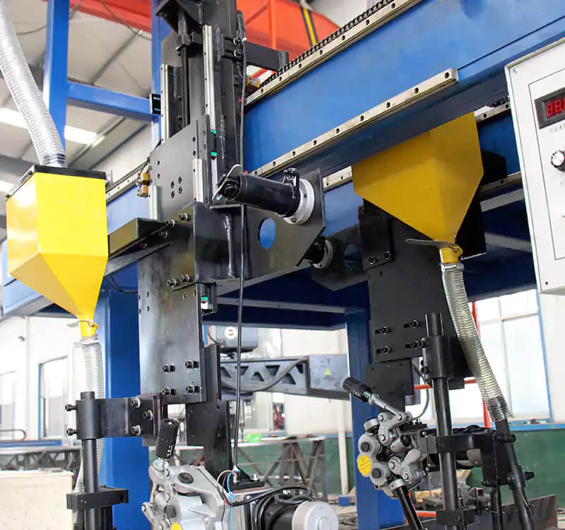 Gantry variable profile beam automatic welding machine detail