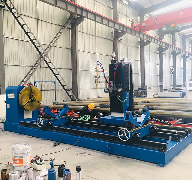 5 Axis CNC pipe flame bevelling cutting machine