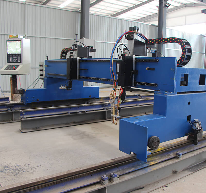 Gantry plasma oxy fuel profile cutting machine